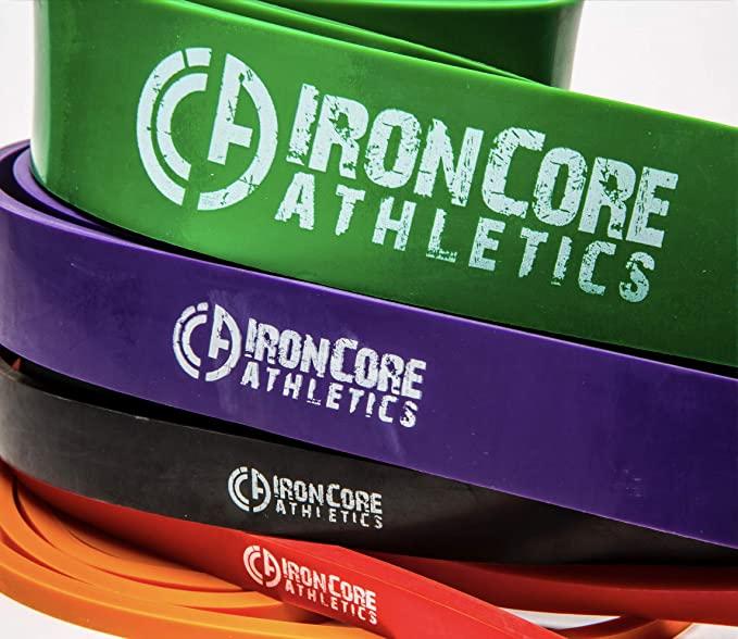 IronCore Athletics Resistance Bands